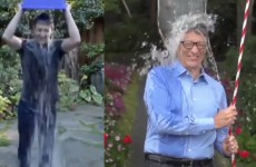 Bill Gates Vs Mark Zuckerberg : seau d'eau glacée