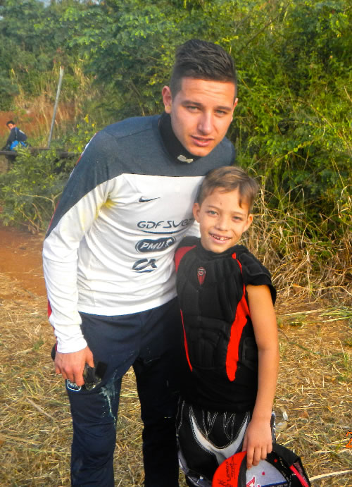 Florian Thauvin au club de paintball Réunion