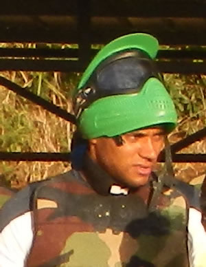 Zacharie Boucher au paintball 974