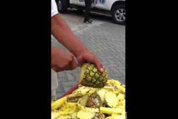 Comment éplucher un ananas