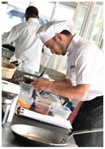 candidat concours culinaire