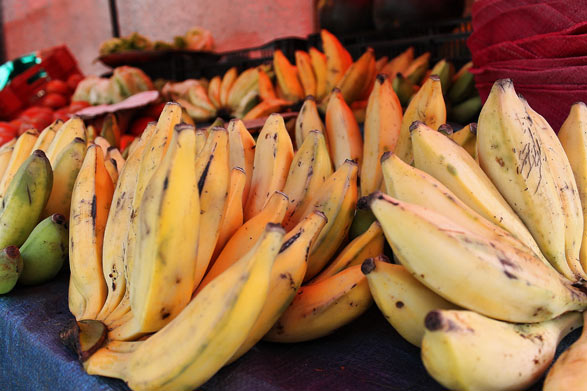La Banane, fruit tropical de la Réunion